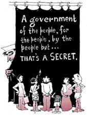 For government's eyes only...