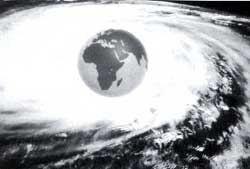 Time warp: is the Earth dragin (Credit: NASA)