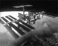 Multinational venture: station (Credit: NASA)
