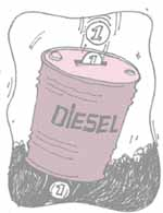 Diesel pricing