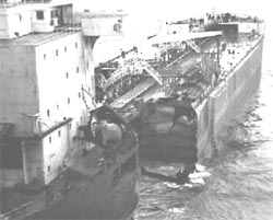 An environmental catastrophe