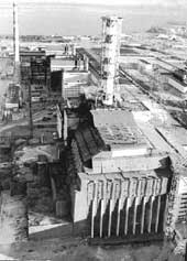 The Chernobyl nuclear plant: t