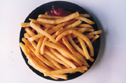Acrylamide for snacks