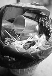 Junking plastic