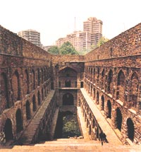 A step well near Connaught Pla (Credit: Preeti Singh / CSE)