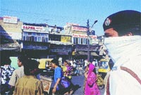 Perils of policing (Credit: Pradip Saha / CSE)