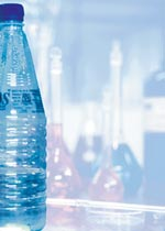 Pesticide residues in bottled water