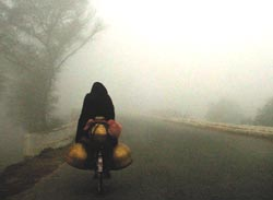 Severe fog: Met department in dark