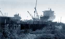 Ship-breaking set to get a fillip despite blaze in Gujarat yard