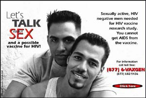 Minorities yoked to spin on first AIDS vaccine trials