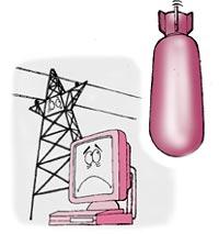 Bombshell for Iraqi electronic equipment