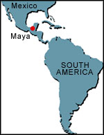 What happened to the Mayas?