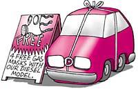 Diesel car sales zoom