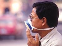 Kathmandu's poor air quality