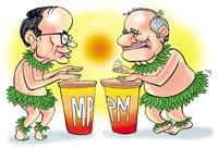 PM, CM in title clash