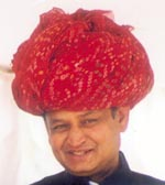Ashok Gehlot <br> 