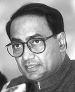 Digvijay Singh <br> Chief Mini
