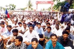 Protests bearing fruit (Credit: K V Sathesh Kumar)
