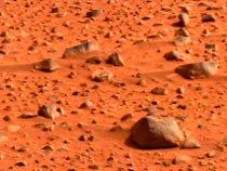 Landing on the red planet