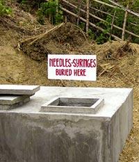 Sound burial