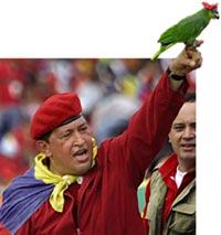 President Chavez unveils new r