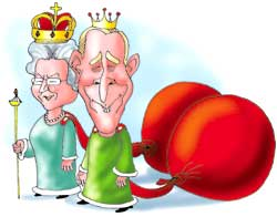 Royally subsidised