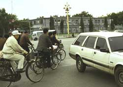 Chinese bicycles reach dead end