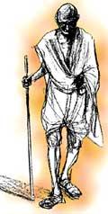 The Mahatma's campaign