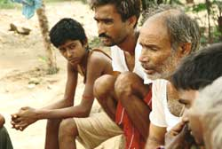 Villagers taken out of the par