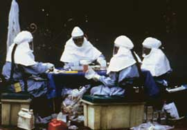 Handle with care: Ebola is hig