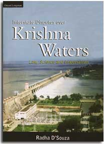 Interstate disputes over Krishna waters