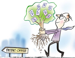 Deluge of foreign patent applications in India