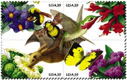 US postal service unveils four stamps