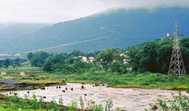 Rivers Shankhini and Dankini in Chhattisgarh run dirty
