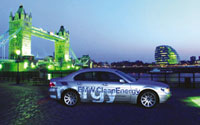 BMW launches hydrogen car