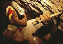 Gem slaves Tanzanite's child labour