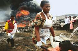 269 dead in oil pipeline blast in Lagos