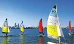 Antifouling paints by Australian yacht clubs release toxic elements into Swan river