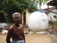 Rainwater harvesting aids tsunami-hit Sri Lankan villages