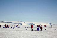 Antarctica turns gallery for artists