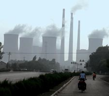 China's five-year energy targets