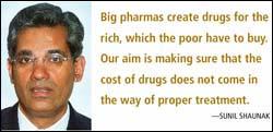Sunil Shaunak on ethical medicine, patent laws
