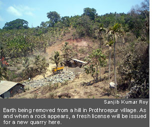 Web Exclusive Quarrying destroying South Andamans