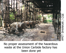 Clean-up plan for Union Carbide waste in Bhopal raises concern