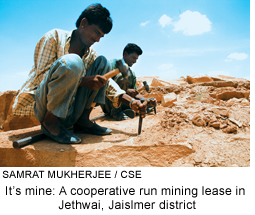 Rajasthan mine workers form cooperatives