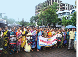 Tribals protest all over India