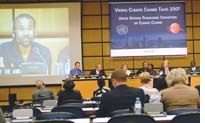 Vienna climate change meet sets stage for Bali COP