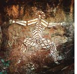 Aboriginal art tells hidden stories