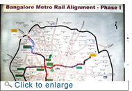 Opinion divided on Bangalore metro rail project