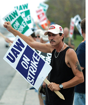 General Motors workers lose job security